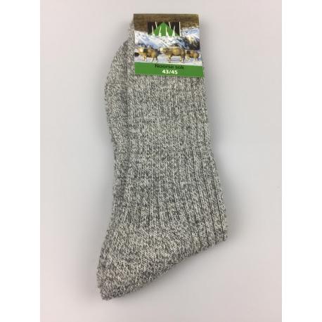 Geitenharen sokken voor klompen, werk en bergschoenen