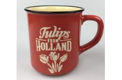 Campmug - Mok Holland Tulpen Rood