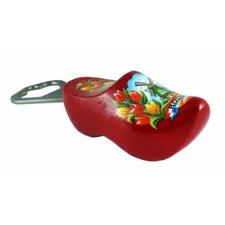 Flesopener klompje rood