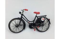 Miniatuur fiets Zwart 23 x 13 cm