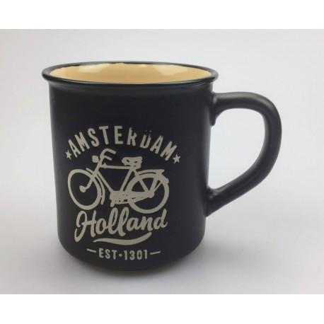Mok Amsterdam Holland Fiets zwart