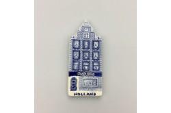 Magneet delftsblauw winkel Holland