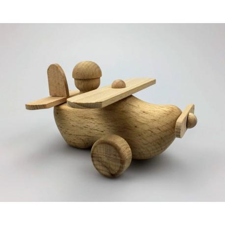 Vliegtuig van hout