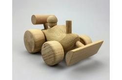 Shovel van houten klompje