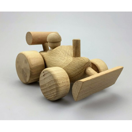 Shovel  van hout