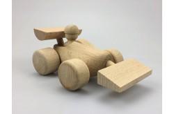 Race auto van houten klompje