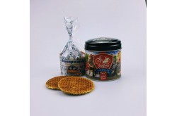Stroopwafels in blik Bicycles Holland