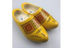 Klompen met naam geel [boerengele uitvoering]