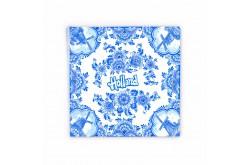 20 x Servetten Delftsblauw Holland