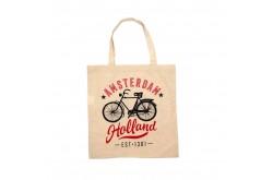 Tas katoen Fiets - Bike  Amsterdam