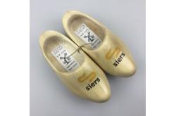 Geboortklompjes met bedrijfslogo schoenmaat 24