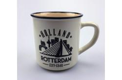 Campmug - Mok Rotterdam wit