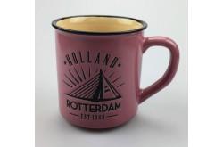 Campmug - Mok Rotterdam roze incl. kadoverpakking