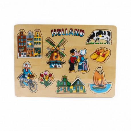 Houten puzzel compilatie Holland