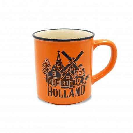 Campmug - Mok Holland Oranje incl. kadoverpakking