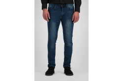 247 Jeans Palm Slim J04 Jog Medium Blue Denim