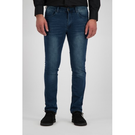 247 Jeans Palm Slim J04 Jog Medium Blue Denim