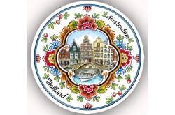 Bierviltje met gracht Amsterdam (20 stuks)