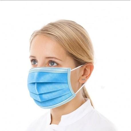 Hygiënemaskers met neusvormstrip / mondkapjes
