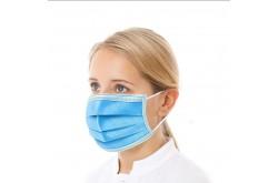 1000 stuks Hygiënemaskers met neusvormstrip / mondkapjes