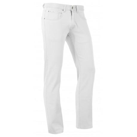 Brams Paris Hugo Stretch jeans wit