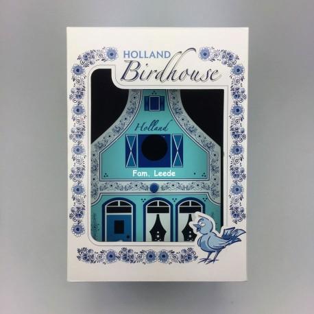 Vogelhuisje Delfts blauw