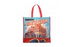 Shopper Amsterdam vintage grachtenhuisjes
