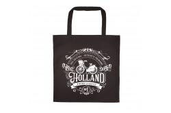 Tas katoen Holland zwart classic