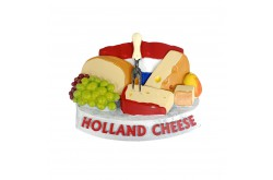 3D magneet cheese & grapes Holland
