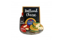 3D magneet cheese & wine Holland