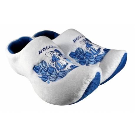 Klomppantoffels Delfts Blauw Kiss Holland + sleutelhanger