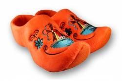 Klomppantoffels Holland Molen Oranje