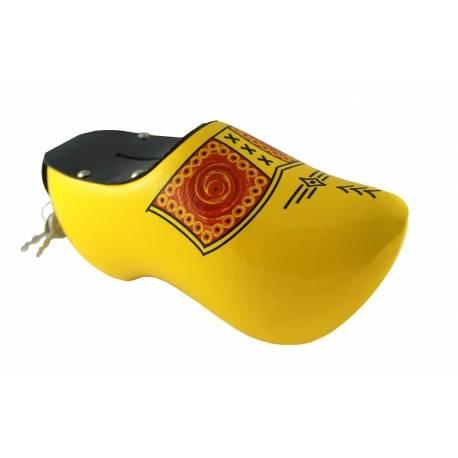Spaarpotklompje geel met bies