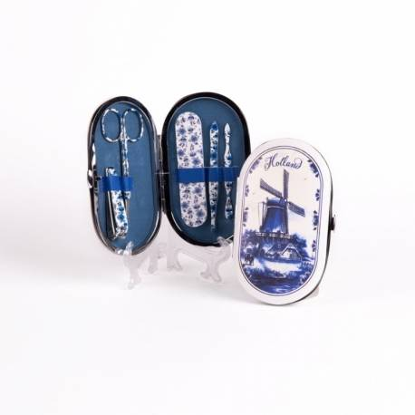 Manicure Set Delftsblauw - 5 delig