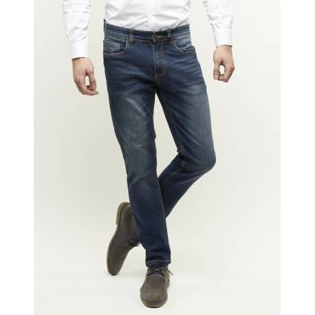 247 Jeans model Palm Slim fit S07 medium blue denim