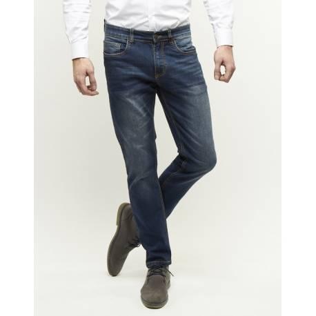 247 Jeans model Palm Slim fit S07 medium blue denim