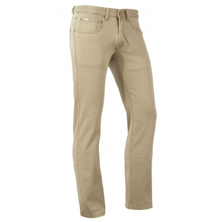 Brams Paris Hugo Stretch jeans Sand
