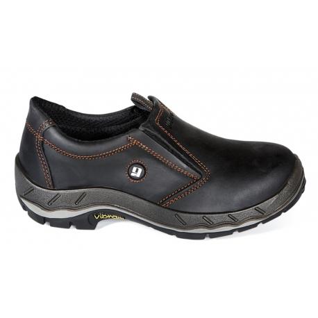 Werkschoenen Met Stalen Neus.Grisport Werkschoenen Instap Zwart