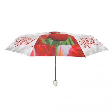 Paraplu's Holland tulpen compilatie