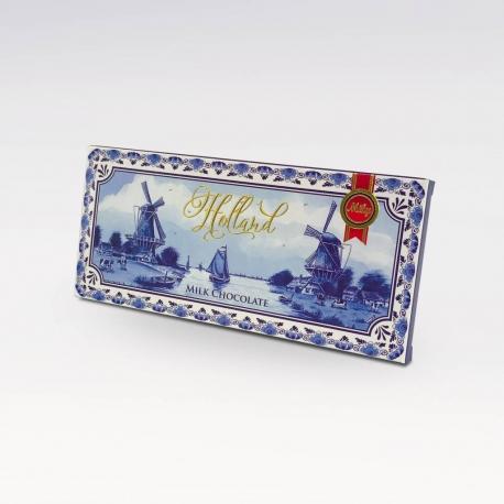 Melkchocolade Holland delftsblauw