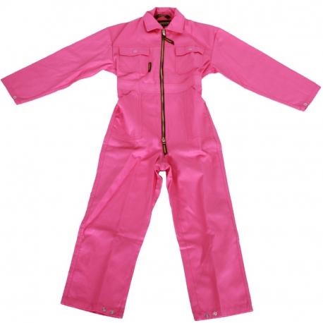 Kinderoverall roze