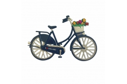 Magneet Fiets Holland Rood