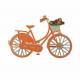 Magneet Fiets Holland Oranje