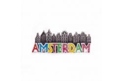 Magneet Amsterdamse huisjes