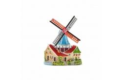 Magneet stellingmolen huis met luiken
