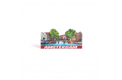 Magneet 2D MDF compilatie brug Amsterdam