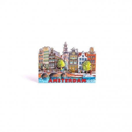 magneet 2D MDF gracht Amsterdam