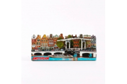 Magneet 2D MDF compilatie Magere Brug Amsterdam