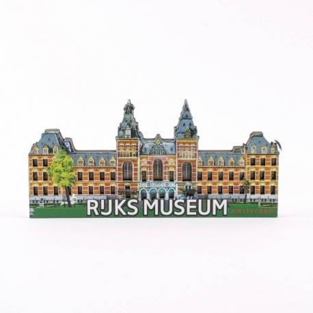 Magneet 2D MDF Rijksmuseum Amsterdam