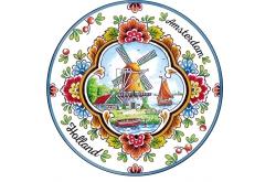 Bierviltje met molen Holland (20 stuks)